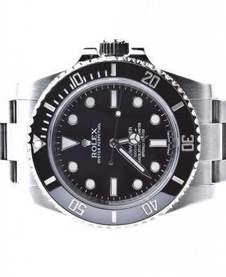 Rolex Submariner Ceramic No Date w/ Box & Papers, Watch,  - [Wachler]