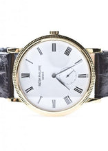 Load image into Gallery viewer, Patek Philippe Calatrava 18k Yellow Gold, Watch,  - [Wachler]