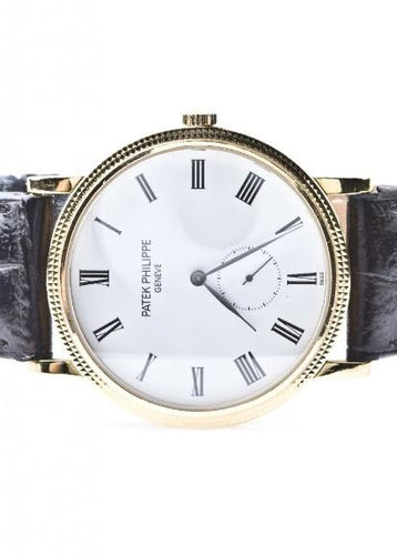 Patek Philippe Calatrava 18k Yellow Gold, Watch,  - [Wachler]