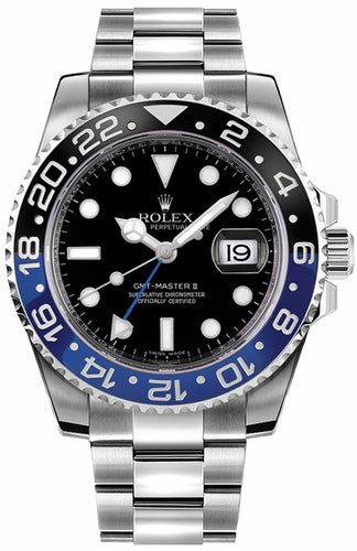 GMT-Master II Batman Men's Watch 116710BLNR
