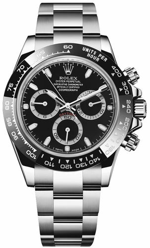 Cosmograph Daytona Oystersteel Men's Watch 116500LN