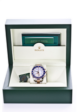 Load image into Gallery viewer, Unworn Fully Stickered Rolex Yacht-Master II Two Tone SS 18k Rose Gold White Dial Watch 44mm, Watch,  - [Wachler]