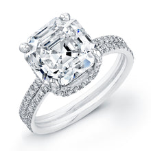 Load image into Gallery viewer, Asscher Cut Diamond Engagement Ring, Engagement Ring,  - [Wachler]