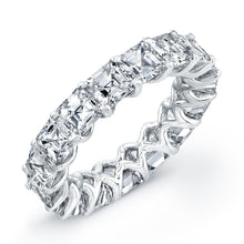 Load image into Gallery viewer, Asscher Cut Prong-Set Diamond Eternity Band, Wedding Bands,  - [Wachler]
