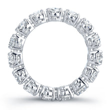 Load image into Gallery viewer, Oval Diamond Platinum Eternity Band, Wedding Bands,  - [Wachler]