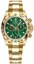 Load image into Gallery viewer, Cosmograph Daytona Green Dial Watch 116508