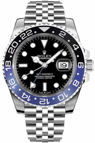 GMT-Master II Batman Jubilee Men's Watch 126710BLNR