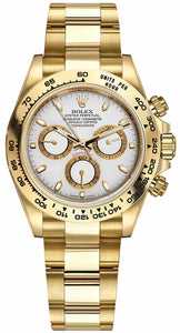 Cosmograph Daytona White Dial Men's Watch 116508