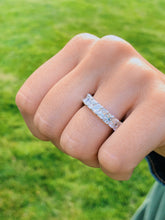 Load image into Gallery viewer, Radiant Cut Cut Eternity Band 5 CT