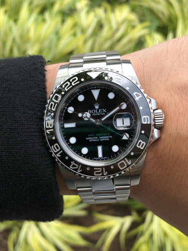 Rolex GMT Master II Stainless Steel 113710, [product_type],  - [Wachler]