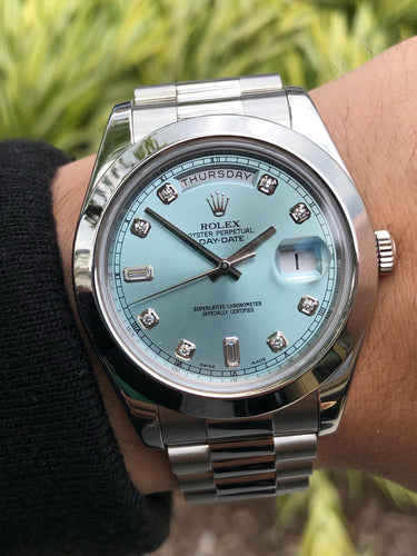 Rolex 41mm Platinum Day Date II Discontinued, [product_type],  - [Wachler]