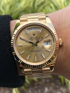 Rolex Day Date 40mm 18k Yellow Gold, Watch,  - [Wachler]