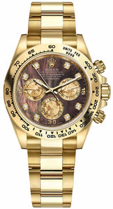 Cosmograph Daytona Gold Men's Watch 116508