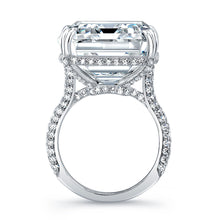 Load image into Gallery viewer, 20 Carat Emerald Cut Engagement Ring, Engagement Ring,  - [Wachler]