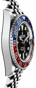 GMT-Master II Pepsi Luxury Men's Watch 126710BLRO