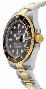 Submariner Date Men's Two-Tone Watch 116613