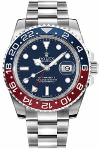 GMT-Master II Blue Dial Men's Watch 116719BLRO