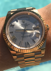 Unworn Rolex Day Date 40mm 18k Yellow Gold, Watch,  - [Wachler]