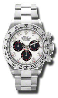 Rolex Cosmograph Daytona Automatic Men's 18 Carat White Gold Oyster Watch