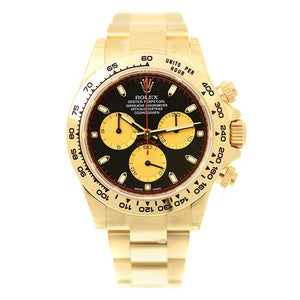 Rolex Cosmograph Daytona Champagne and Black Dial Men's Chronograph Watch 116508CBKSO