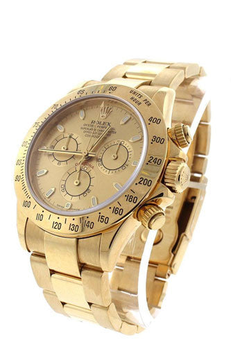 Rolex Cosmograph Daytona Champagne Dial Men's Chronograph Oyster Watch