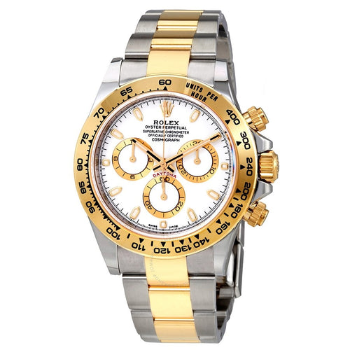 Rolex Cosmograph Daytona White Dial Stainless Steel and 18K Yellow Gold Oyster Automatic Men's Watch 116503 WSO