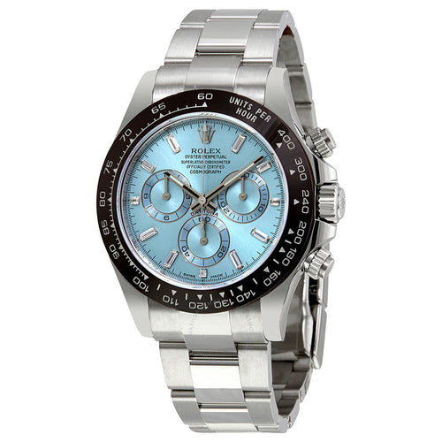 Rolex Oyster Perpetual Cosmograph Daytona Ice Blue Dial Automatic Men's Chronograph Watch 116506BLDO