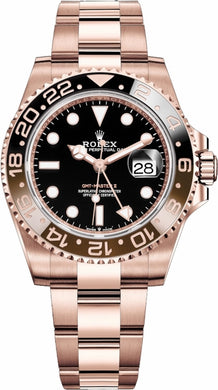 GMT-Master II Root Beer Rose Gold 126715CHNR