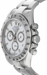 Cosmograph Daytona White Dial Men's Watch 116520