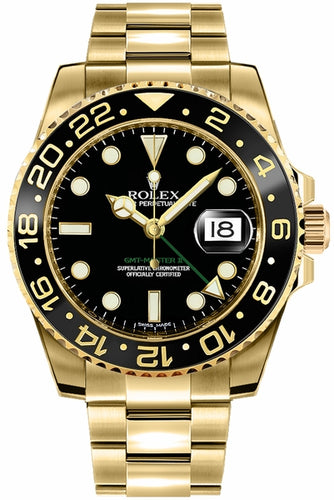 GMT-Master II Gold Men's Watch 116718