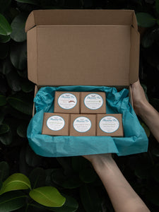 Lemongrass and Cinnamon Gift Box for Normal to Oily Hair and Hair Growth with FREE Lemongrass Body Wash