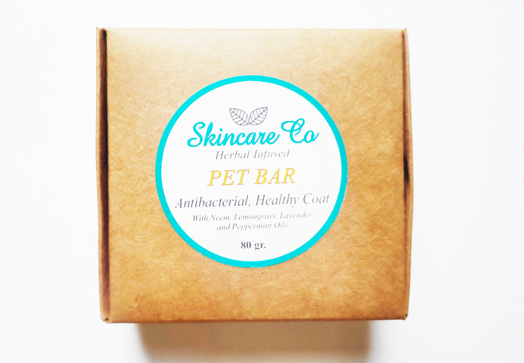 Pet Bar Natural Solid Shampoo for Pets with Neem Oil