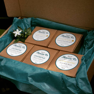 Jasmine and Ylang-Ylang Gift Box for Dry and Damaged Hair and Hair Growth with FREE Ylang-Ylang Body Wash