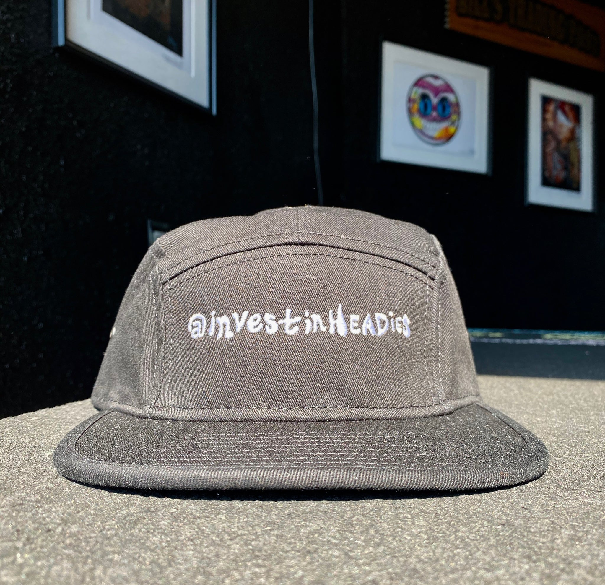 Invest In Headies - Five Panel Hat