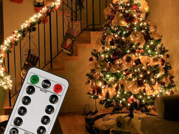 How to Set Timer on Christmas Tree Fairy Lights