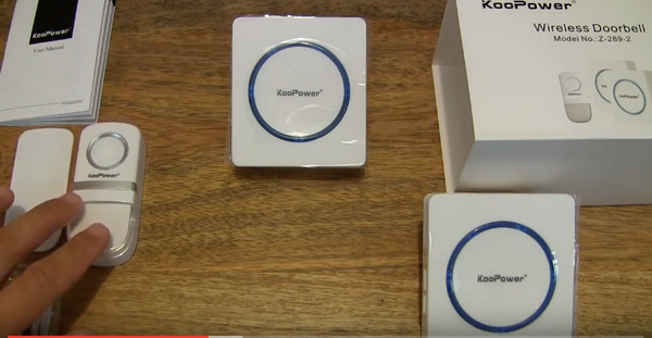 Sutats: Unboxing the KooPower Wireless Doorbell