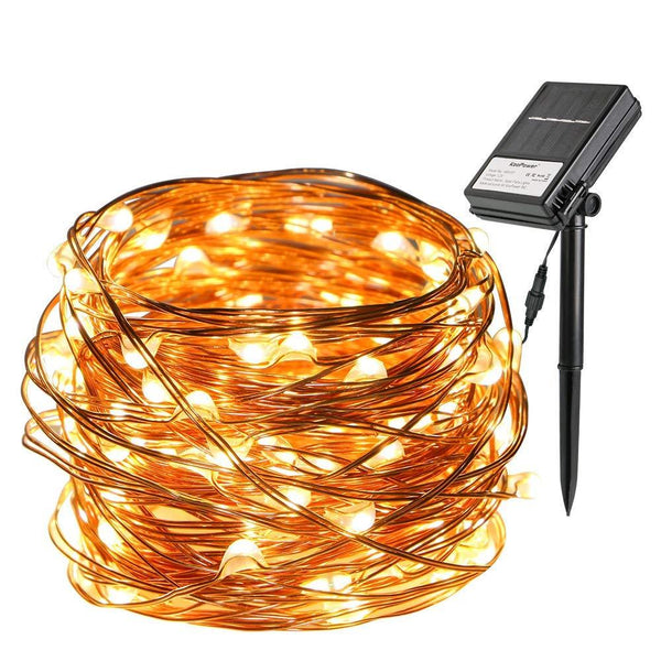 Giveaway - Win 1 of 100 Dual Power Fairy Lights (100 LED, Solar and Battery Powered)