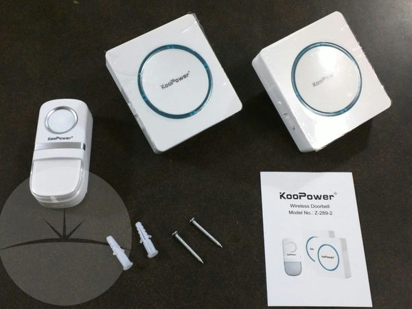 Droidhorizon Review: KooPower's wireless doorbell