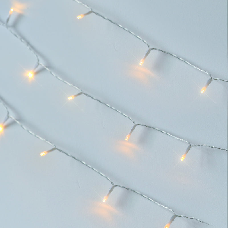 KooPower Battery-powered 5m/16.4ft 40-LED Fairy Lights with Remote and Timer