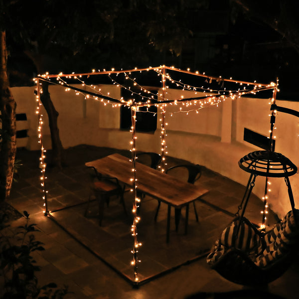 KooPower Plug-in 21m/69ft 200-LED Fairy Lights