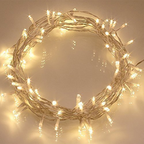 40 LED Outdoor Battery Operated Fairy Lights with Remote & Timer