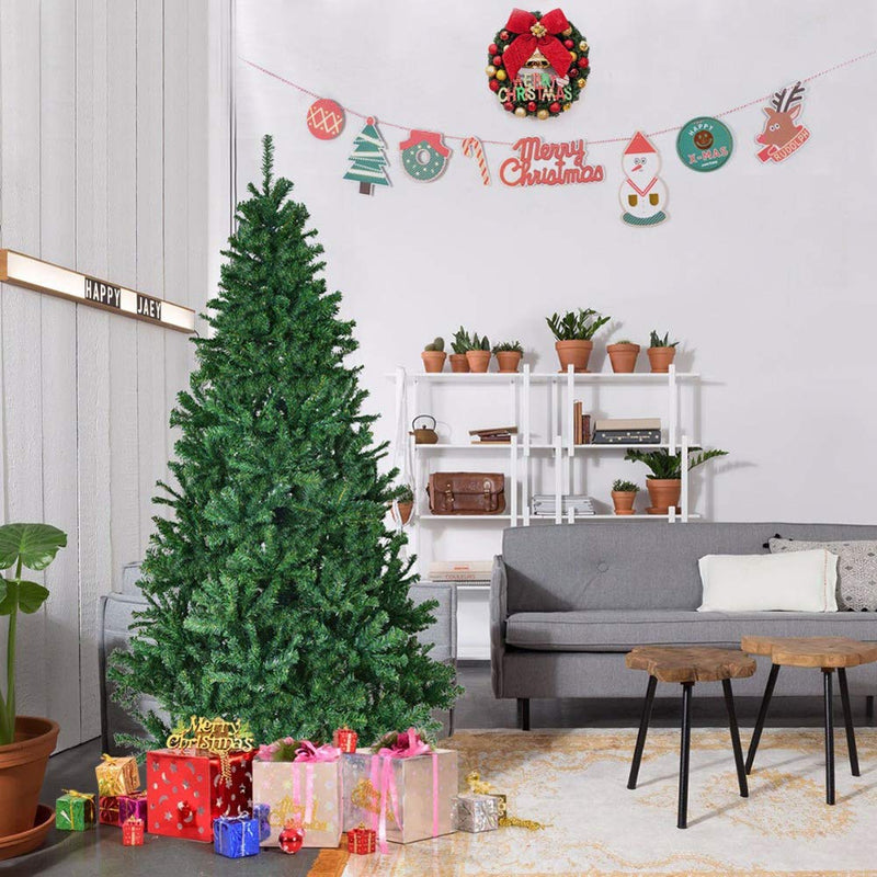 1.8M/ 6FT Artificial Christmas Tree + 100 LEDs Battery Operated Xmas Fairy Lights