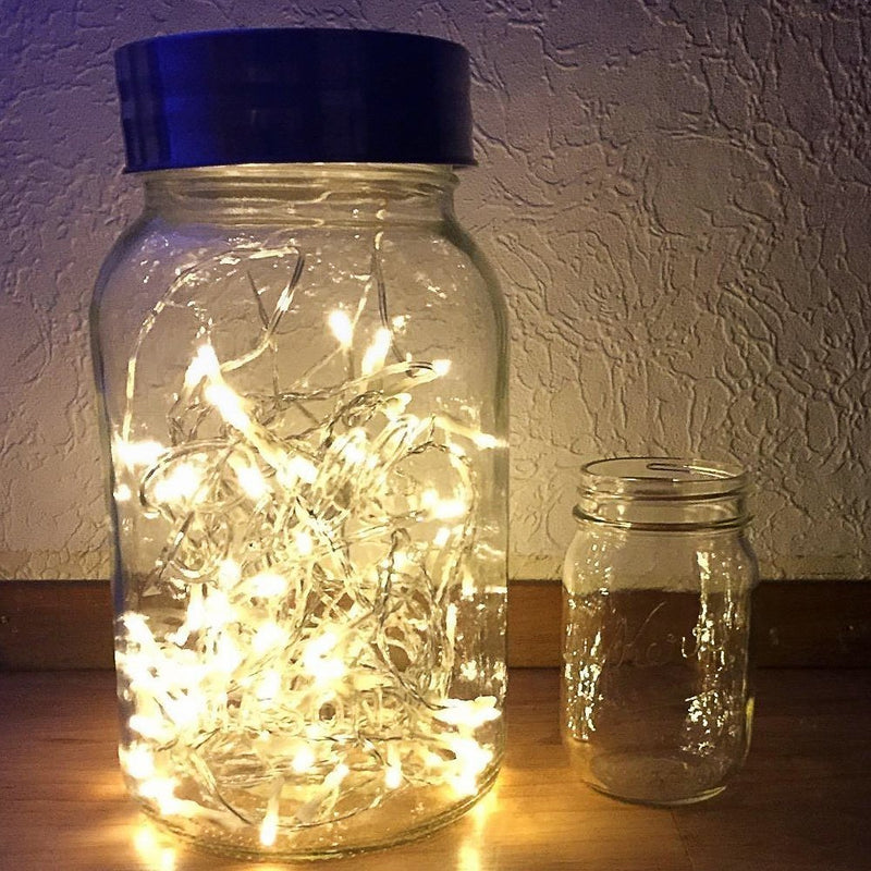 [2 Pack] Battery Operated 40 LED Fairy Lights