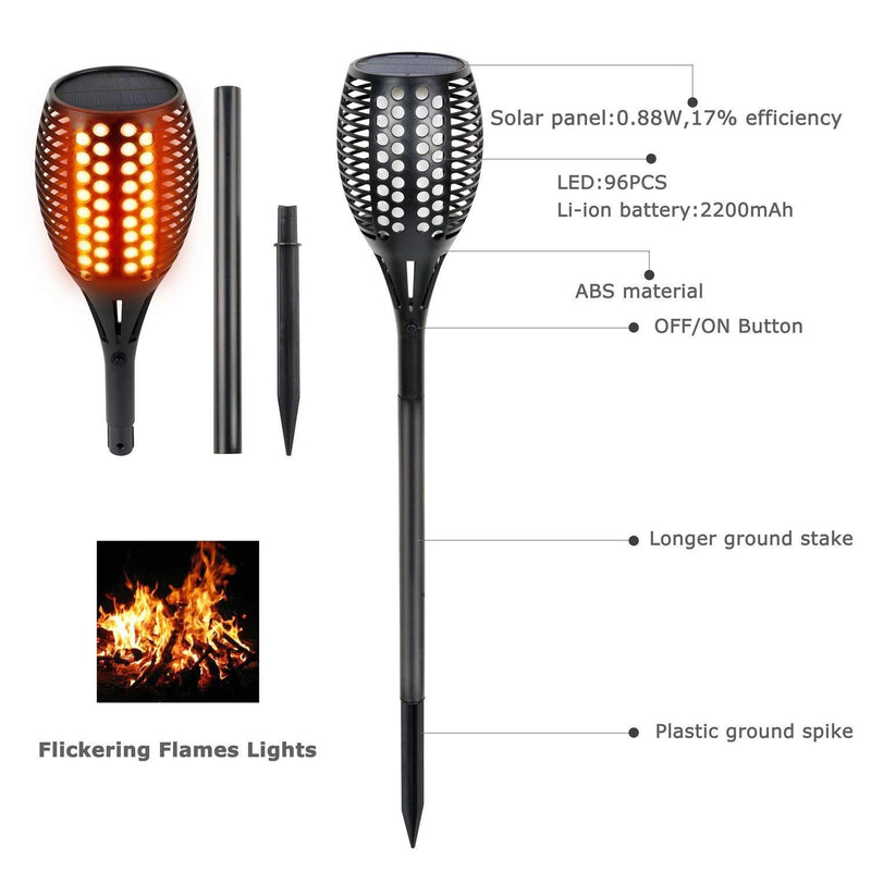 LED Flickering Flame Lights