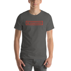 """BE POSITIVUS"" Red Logo Unisex T-Shirt"