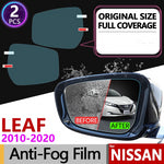 Full Cover Anti Fog Film Mirror For Nissan Leaf