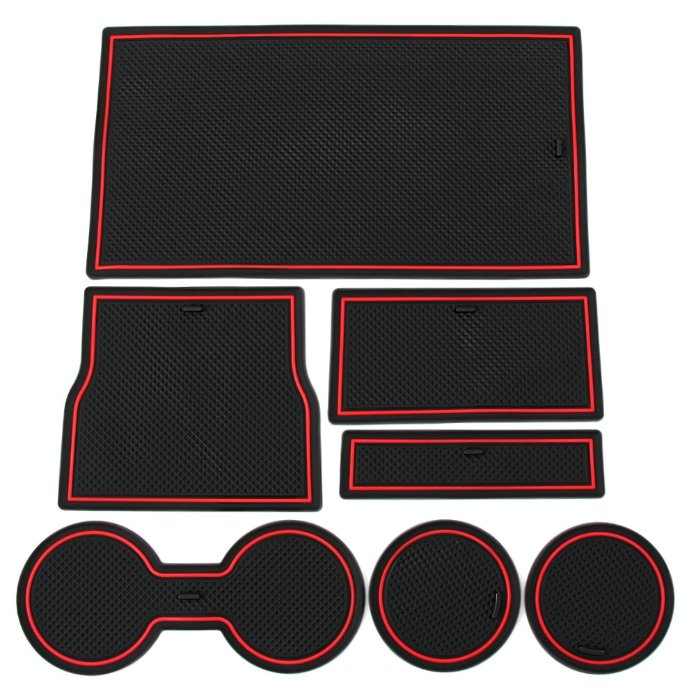 Car Console Mat Wrap
