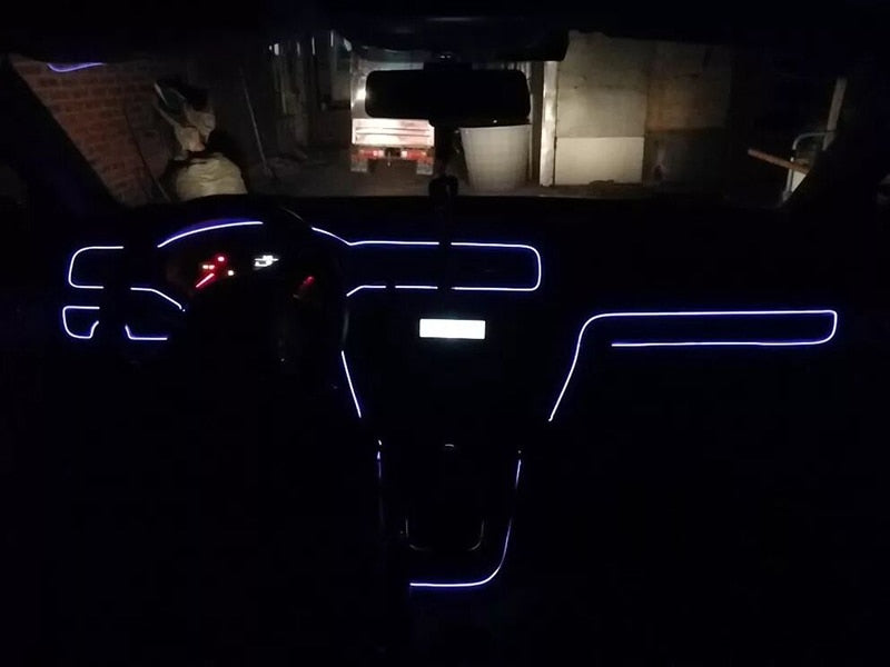 Neon Interior LED Strip Lights For Renault Zoe