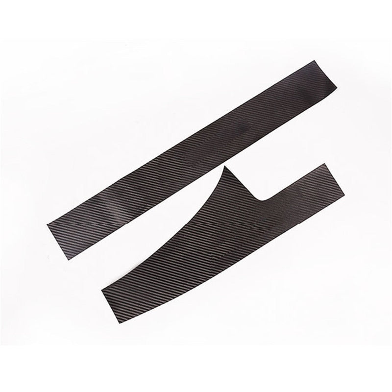 Carbon Fibre Door Sill Strip Plate For Tesla Model 3