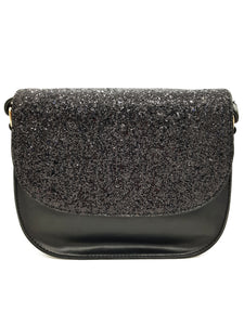 Shimmery Black Sling Bag